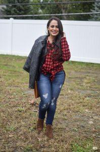 Melissa Mom with Style Fall Weekend Getaway Look