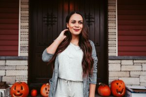 Melissa Mom with Style How to Dress Up a Casual Jumpsuit