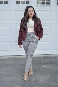 Melissa Mom with Style The Comfiest Plaid Pants