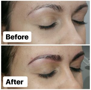 Melissa Mom with Style My Microblading Experience