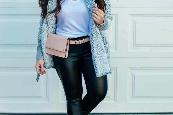 Melissa Mom with Style Athleisure Winter Look