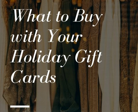 Melissa Mom with Style What to Buy with Your Holiday Gift Cards