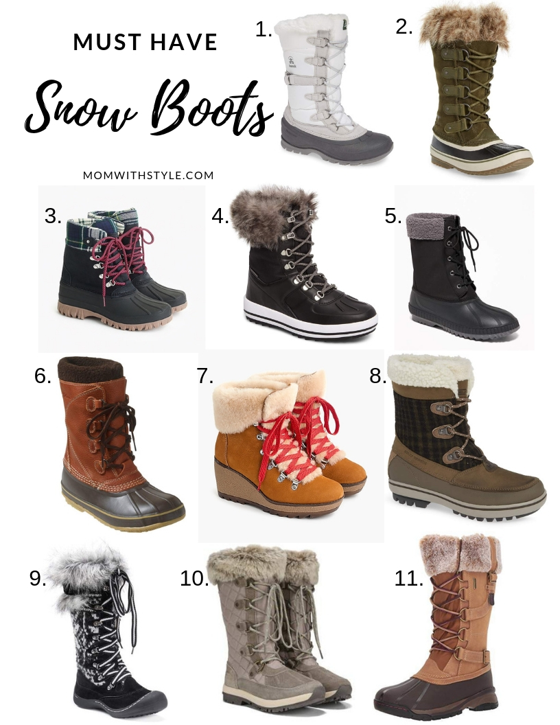 Melissa Mom with Style Must Have Snow Boots