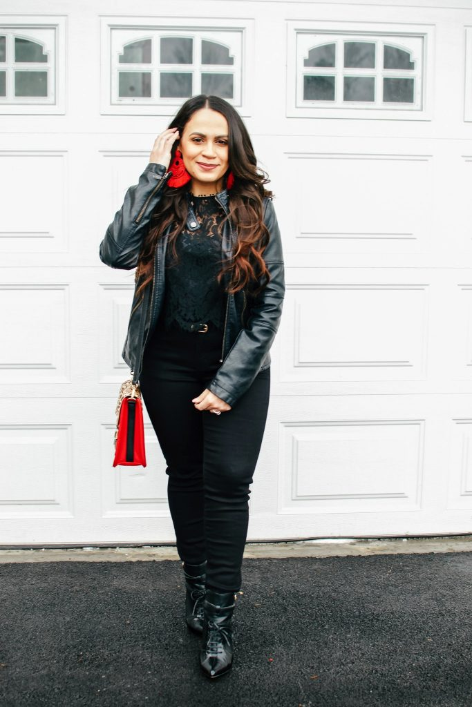 Melissa Mom with Style Monochromatic Winter Look
