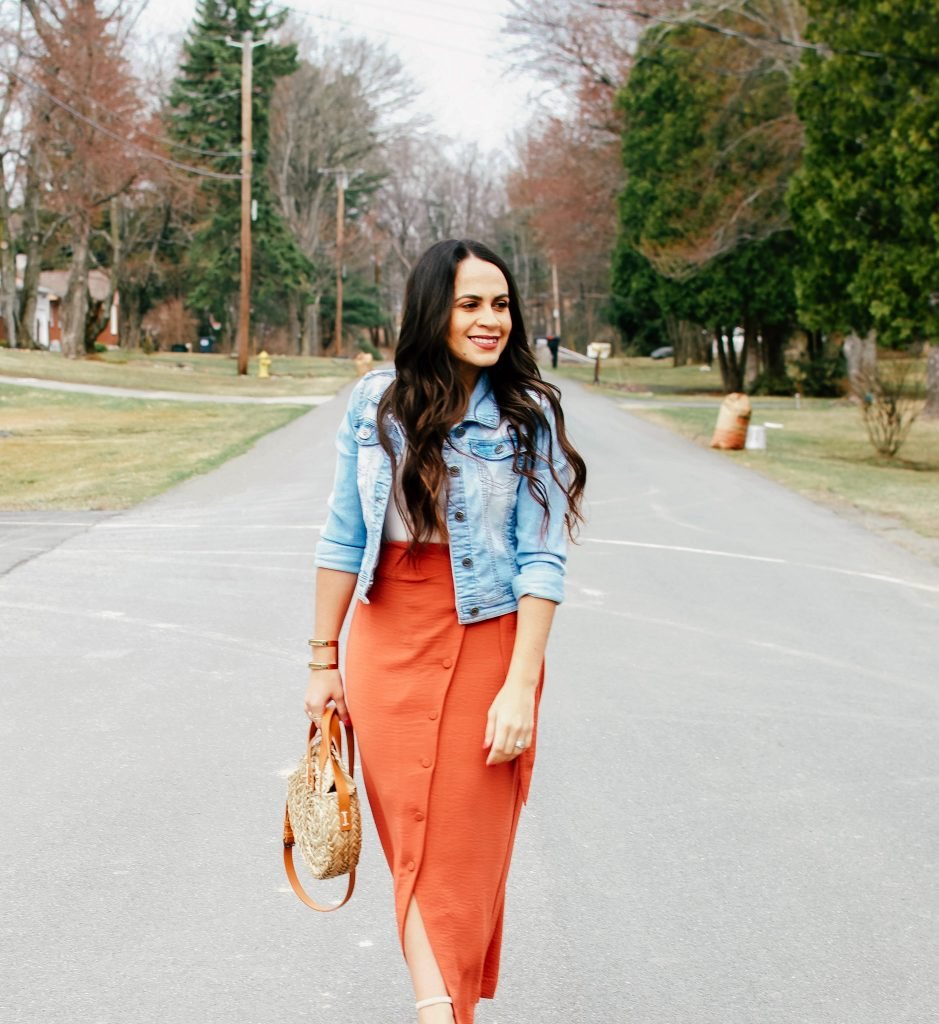 Melissa Mom with Style The Copper Skirt You Can Maximize This Season