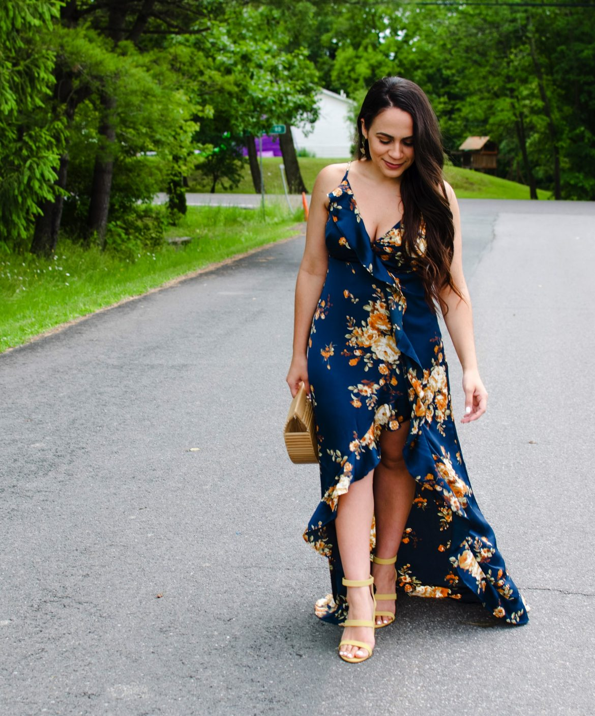 Melissa Mom with Style Summer Trend: Satin Maxi