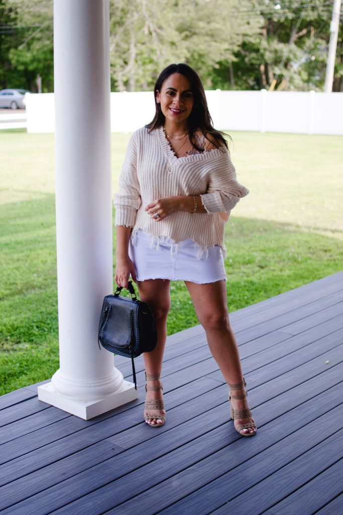 Melissa Mom with Style A Transition Outfit For Summer to Fall