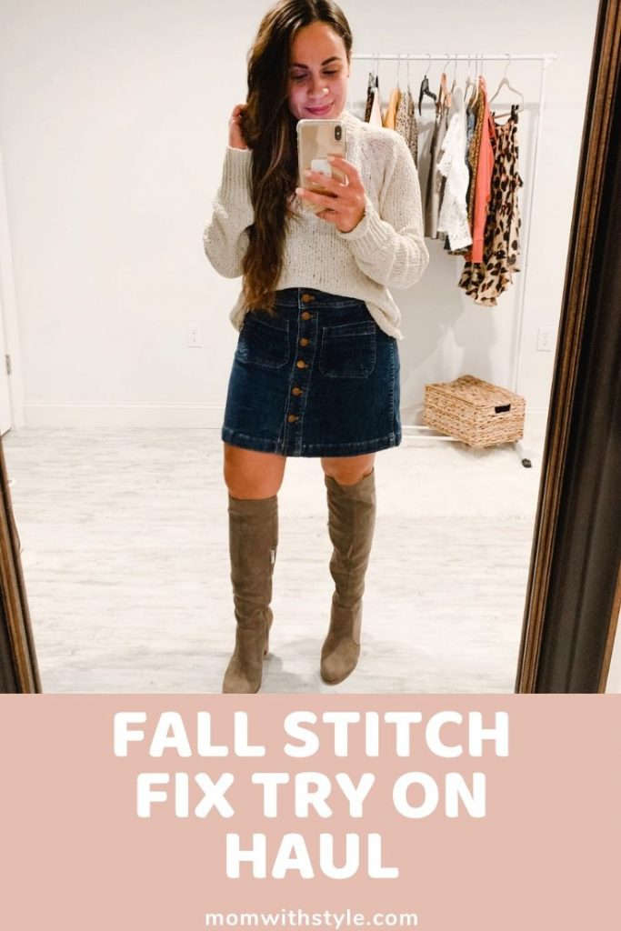 Melissa Mom with Style Fall Stitch Fix Try On Haul