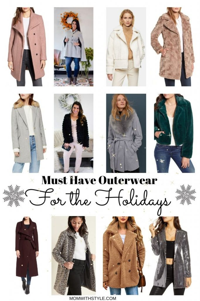 Melissa Mom with Style Must Have Outerwear for the Holidays
