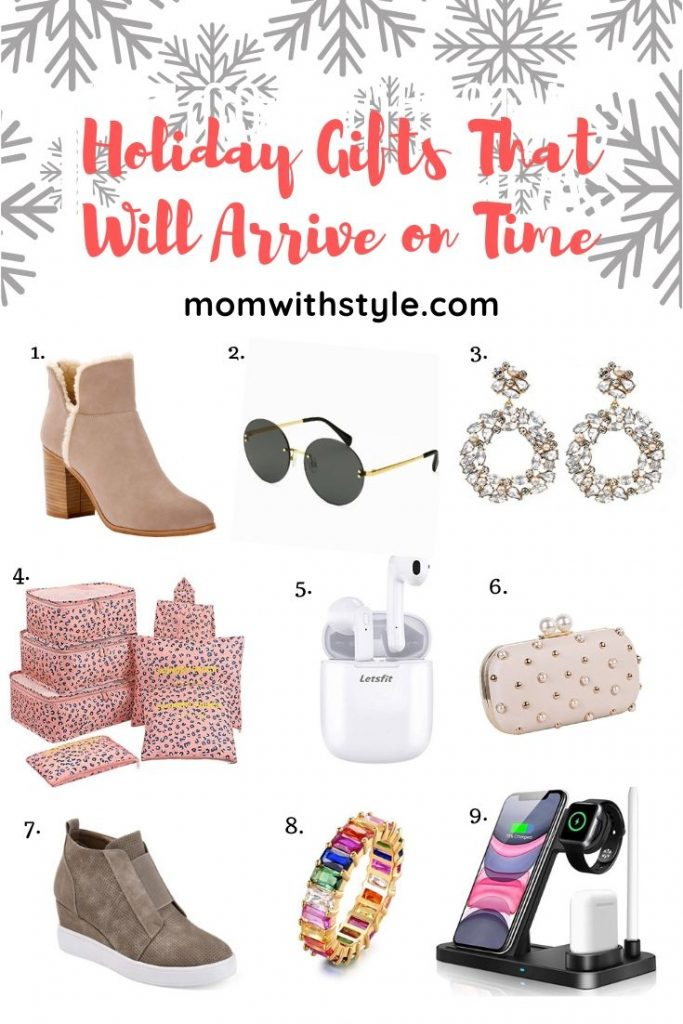 Melissa Mom with Style Holiday Gifts That Will Arrive on Time