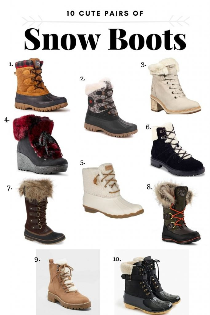 Melissa Mom with Style 10 Cute Pairs of Snow Boots