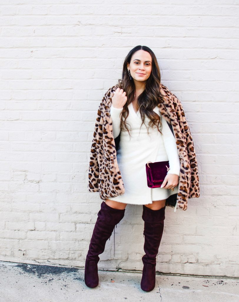 Melissa Mom with Style The Sweater Dress You Need For Your Next Date Night
