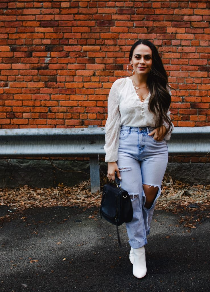 Melissa My Favorite Way To Wear Mom Jeans