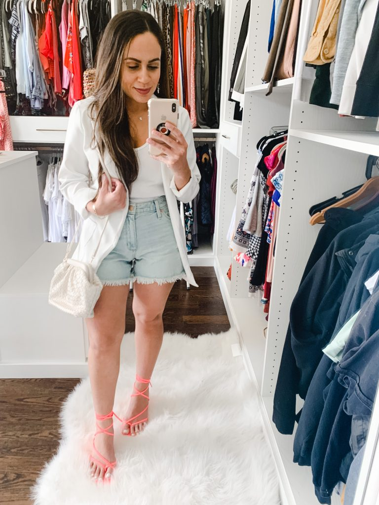 Melissa Mom with Style How to Create an All White Outfit for Summer