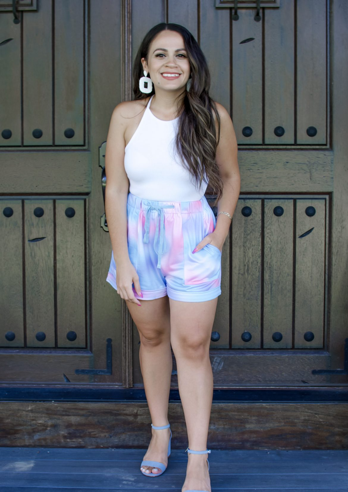 Melissa Mom with Style Tie Dye Summer Lookbook