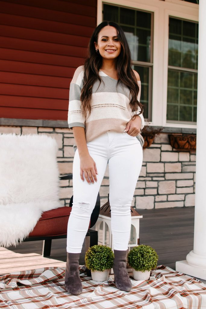 Melissa Mom with Style How to Wear Neutrals for Fall