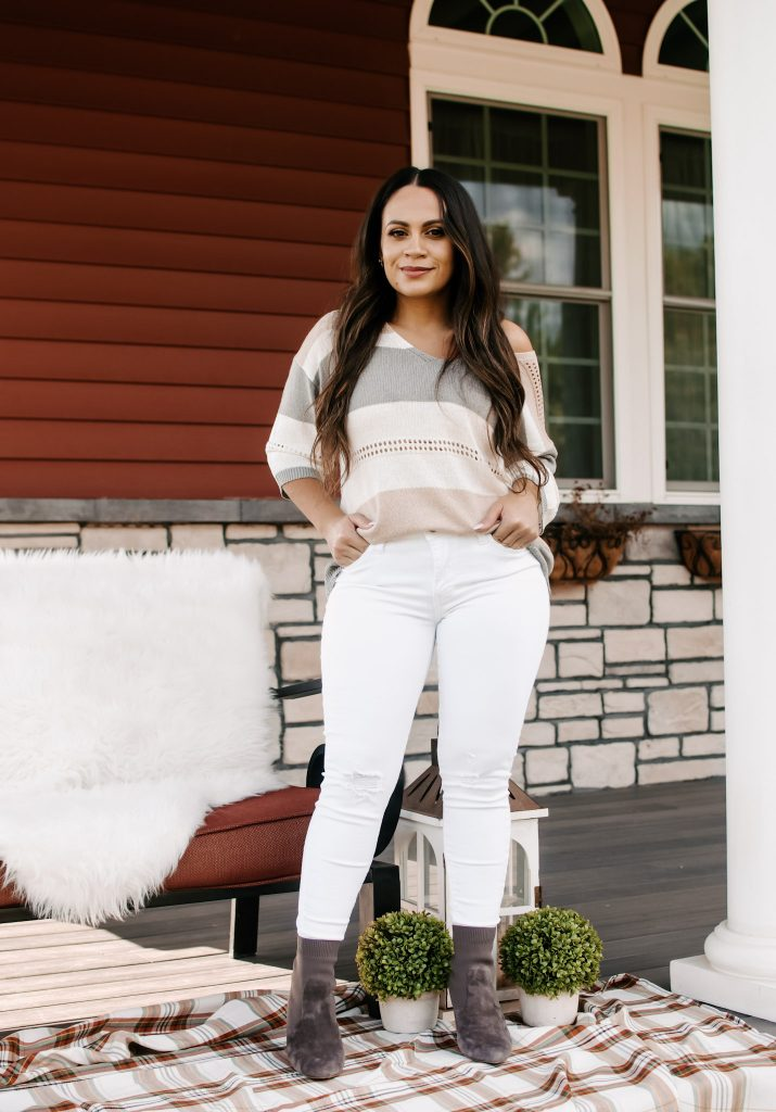 Melissa Mom with Style Neutral Outfit for Fall