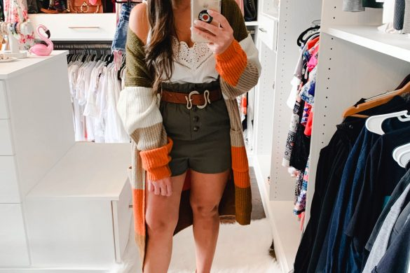 Melissa Mom with Style Transitional Fall Outfit