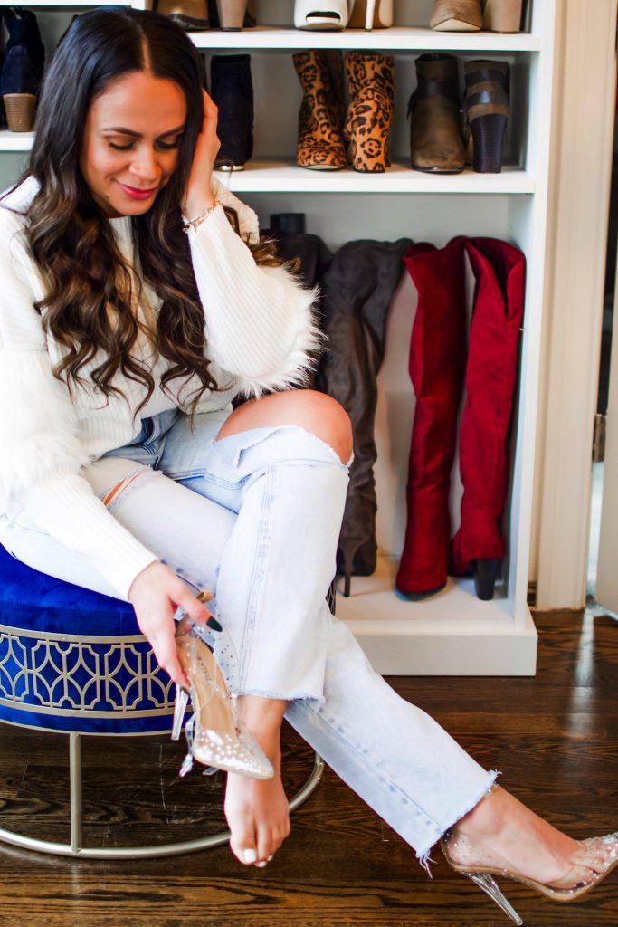 Melissa Mom with Style Organized Closet