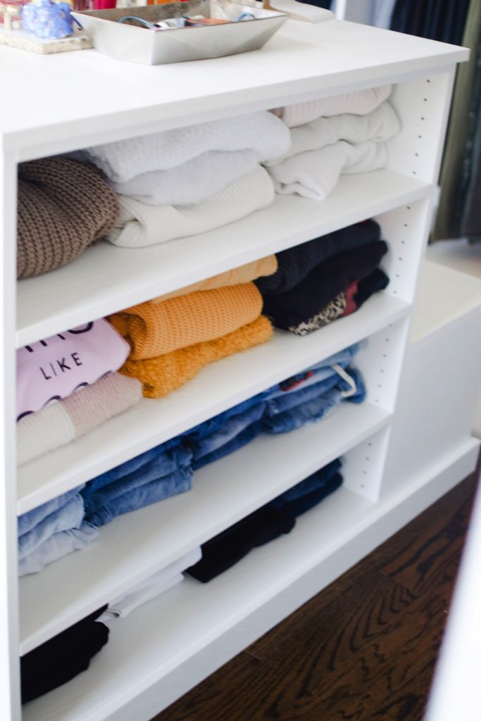 Melissa Mom with Style Hacks On Doing a Closet Detox