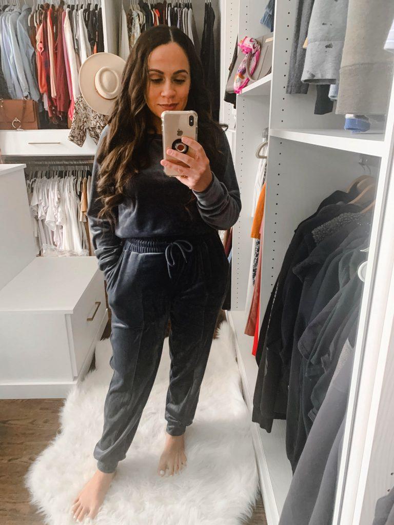 Melissa Mom with Style Holiday Gift Set Fleeced Loungewear Set