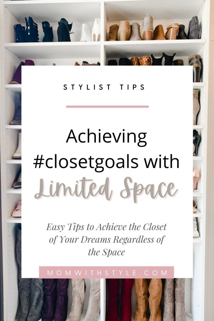 Melissa Mom with Style Limited Space Closet Goals