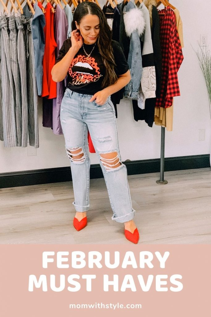 Melissa Mom with Style Sharing Her Favorite Must Have Items for February