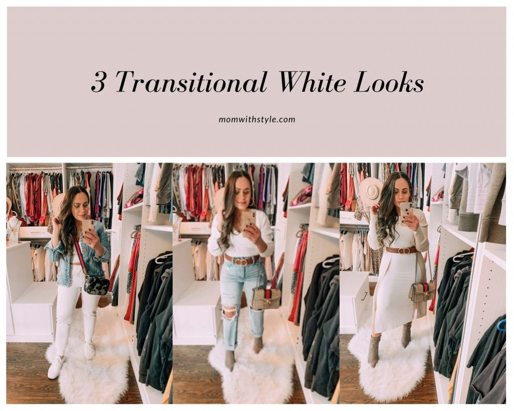 Melissa Mom with Style 3 Transitional White Looks