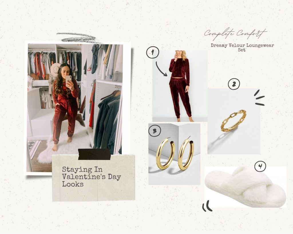 Melissa Mom with Style Comfy and Festive Valentine's Day Look