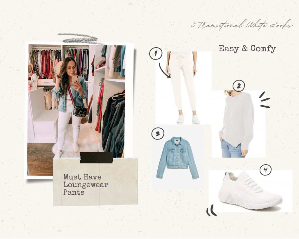 Mom with Style easy and comfy Transitional White Looks