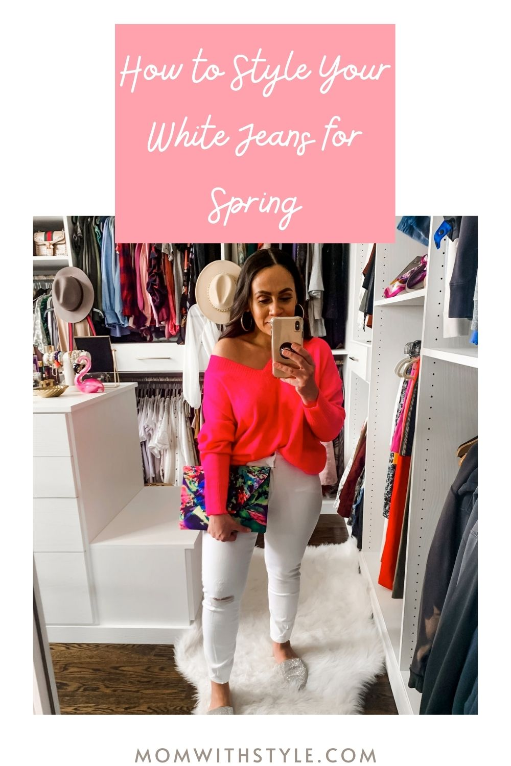 Melissa Mom with Style How to Style Your White Jeans for Spring
