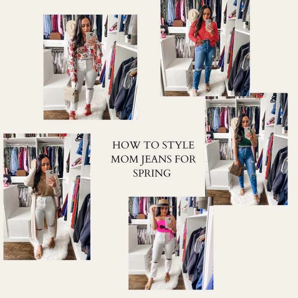 Melissa Mom with Style How to Style Mom Jeans for Spring