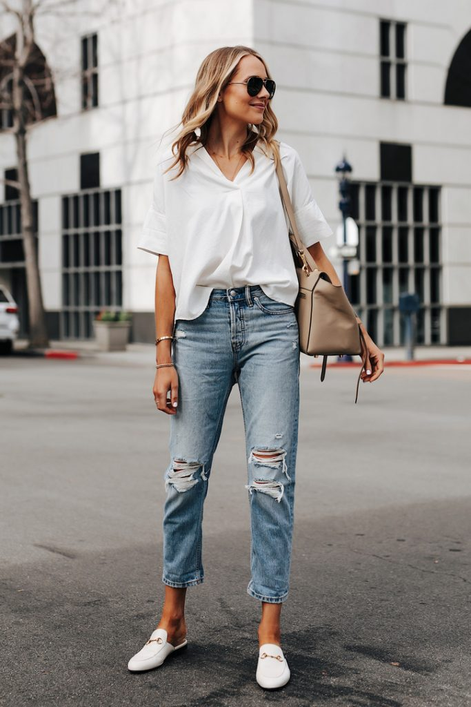 Melissa Mom with Style No Skinny Jeans… Now What? Denim Guide for Millennials Boyfriend Jeans