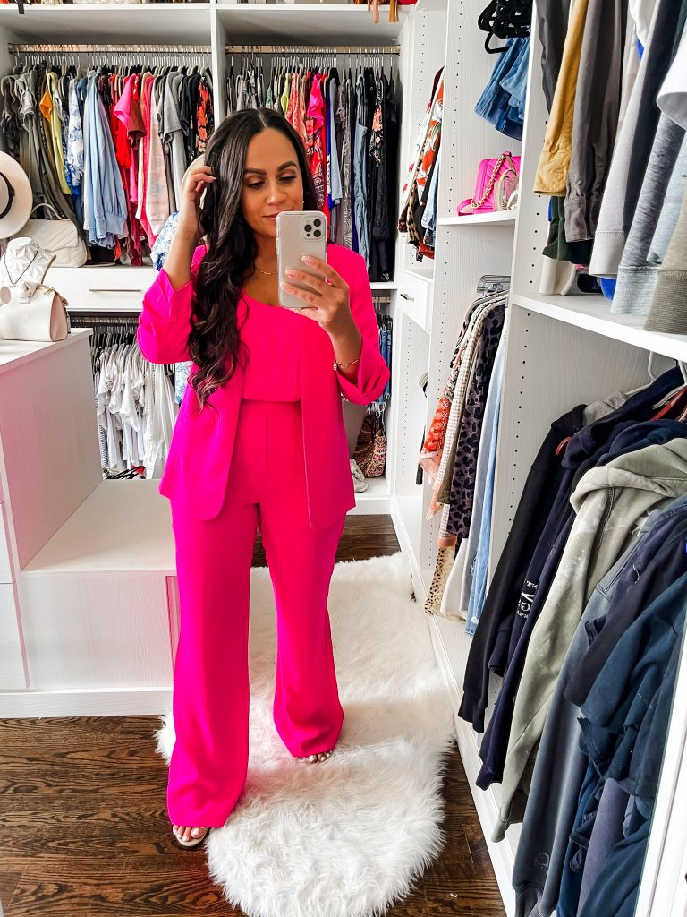 Melissa Mom with Style All Pink Monochromatic Summer Look