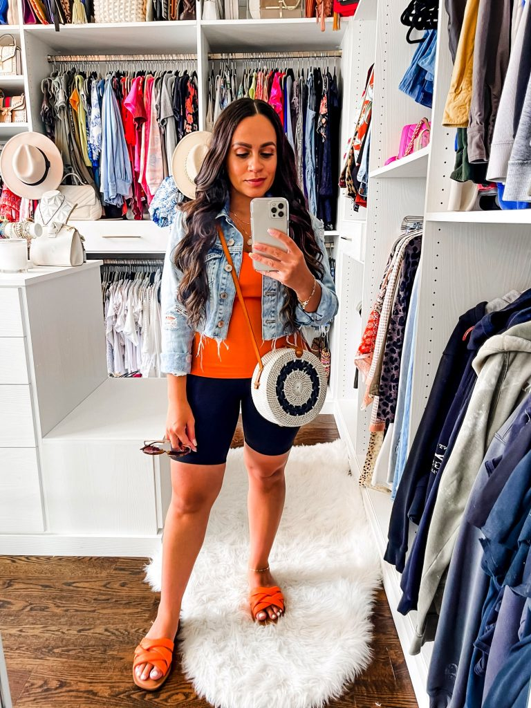 Melissa Mom with Style How to Style Biker Shorts in Summer