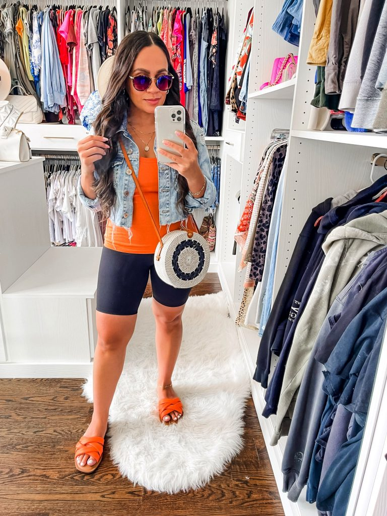 Melissa Mom with Style Comfy and Easy Summer Biker Shorts Outfits