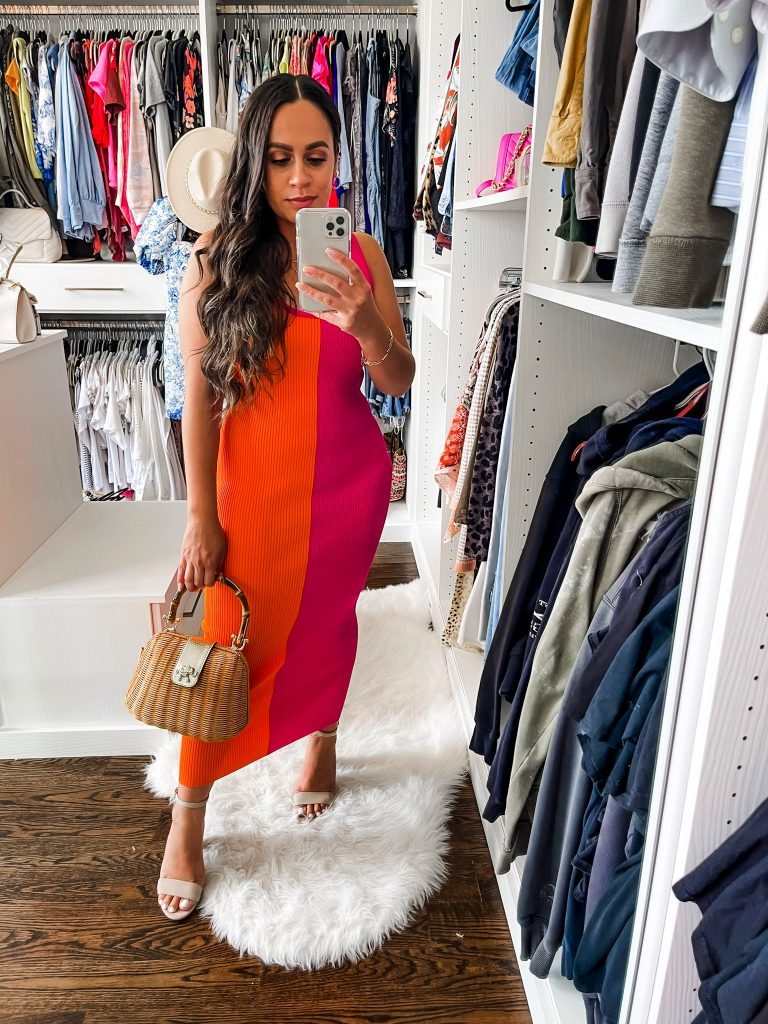 Melissa Mom with Style How to Accessorize a Bold Colorful Dres