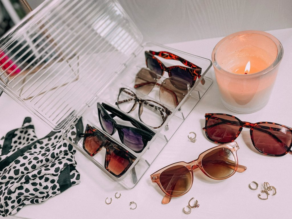 Melissa Mom with Style How to Organize Your Sunglasses