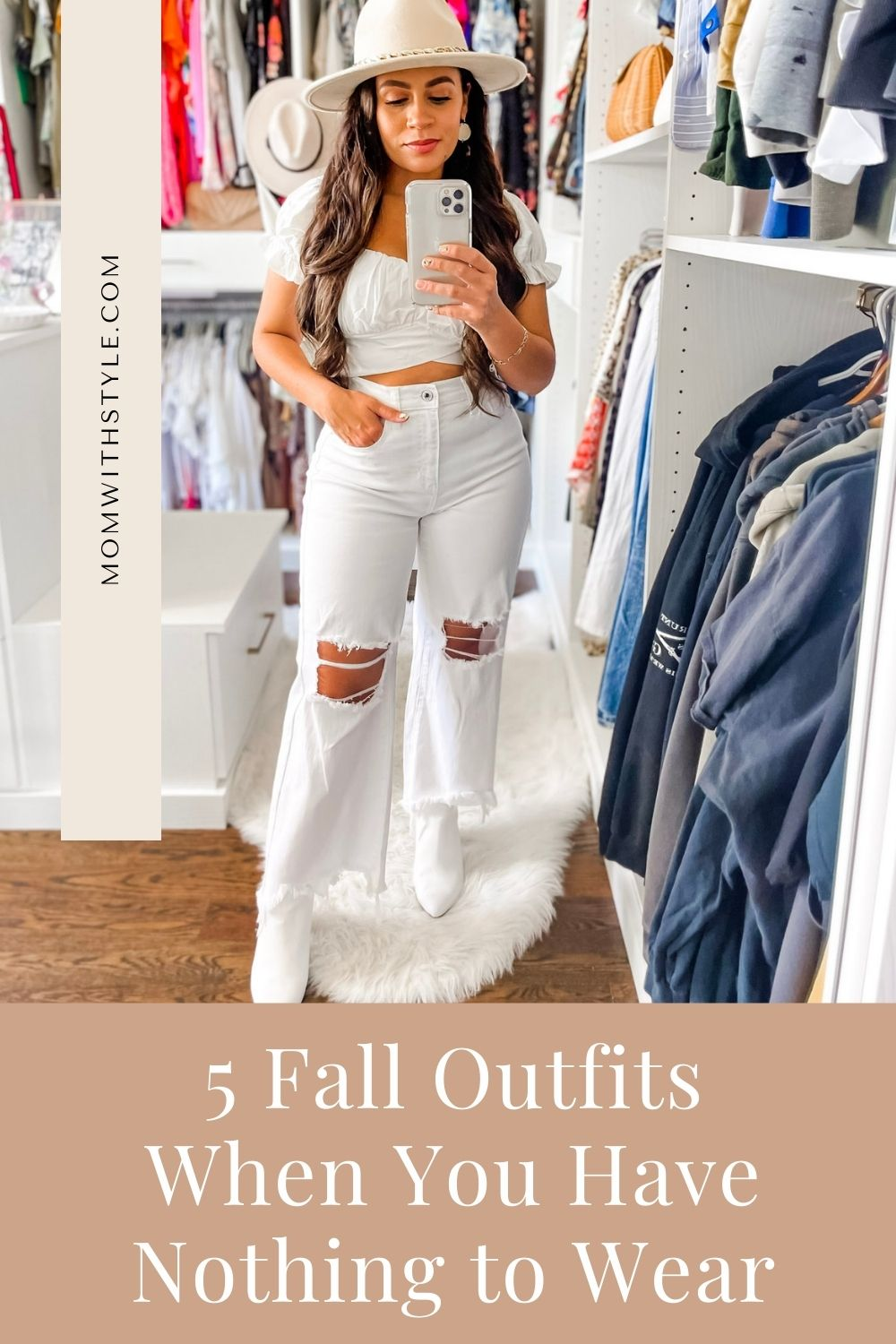 Melissa Mom with Style 5 Fall Outfits When You Have Nothing to Wear